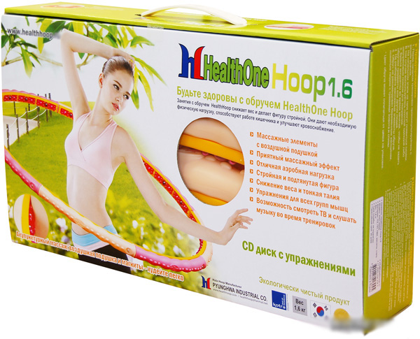 Массажный обруч Health One Hoop 1,6 кг